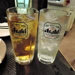 古武士 - 緑茶サワーとチューハイ
