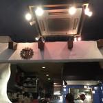 ダバインディア - 厨房の辺り