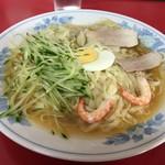 呉龍 - 冷麺ワンタン入り