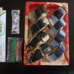 万両寿し - 紀伊長島駅の駅弁代わりに食べる人も多いです。