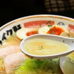 ストライク軒 - シンカー(スープ)