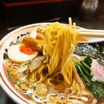 ストライク軒 - ストレート(麺)