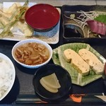 酒房 きさらぎ - 日替り定食750円(込)ご飯おかわり可。