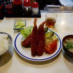 きさらぎ亭 - 海老クリームフライ定食 870円