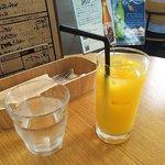 カフェ オムニバス - オレンジジュース