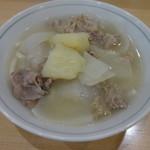 あづま - シチューうどん500円(税別)