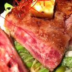 JAZZ茶房 靑猫 - 料理写真:やわらかステーキ丼