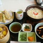 レストラン風月 - 五島うどんセット