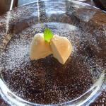 ラッテリア ベベ カマクラ - 紅茶のパンナコッタ