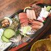 磯亭 - 料理写真:刺身定食。 ボリューム圧巻、かつ美味‼︎