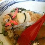 とんかつ富留川 - 【2016.8.1(月)】冷たいスープをかけた