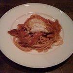 5430606 - 自家製トマトソースのアマトリチャーナ