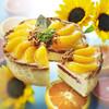 焼きたてチーズタルト専門店PABLO - 料理写真:真夏のひまわり たっぷりオレンジのチーズタルト