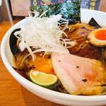 エンターテイ麺ト スタイル ジャンク ストーリー エムアイ レーベル - 2016.8 醤油そば+味玉