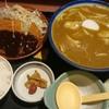 つるつるうどん青空 - 料理写真:味噌カツカレー