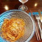 Restaurant AKIOKA - パスタランチ(ジャージー牛のミートソースポルチーニ茸の香りスパゲティーニ)1,250円