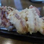 麦屋 - するめいか天(1ぱい分570円)