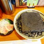 エンターテイ麺ト スタイル ジャンク ストーリー エムアイ レーベル - 溶岩焼き仕立ての醤油そば