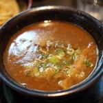 54338808 - 重厚つけ麺(つけ汁)