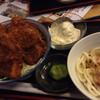 江戸屋 - 料理写真:タルタルソースカツ丼セット。