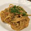 マカロニ - 料理写真:スパゲッティ ウニボナーラ