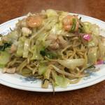 中華新楽 - 皿うどん 柔麺=600円