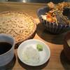 横濱蕎麦 傳介 - 料理写真:せいろ+小天丼 1,000円