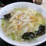 安達太良サービスエリア(上り線) レストラン・スナックコーナー - 塩野菜ラーメン