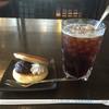 珈琲 池田屋 - 料理写真:アイスコーヒー420円とサービスメニューからどら焼き