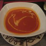 ケララ - トマトとクリームのスープ ハーフサイズ(300円)