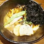 奥芝商店 駅前 創成寺 - 野菜カレー、岩海苔までトッピング