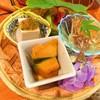茶処 あ・そこ - 料理写真:南瓜煮物・香り物・冷奴・リンゴゼリー