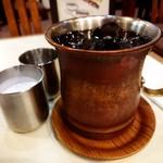アロマ 珈琲 - ドリンク写真:アイスコーヒー。