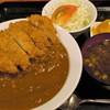 飲食笑商何屋ねこ膳 - 料理写真:カツカレー 800円=16年7月