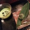 茶の葉 - 料理写真:「お抹茶 ICE」+「新茶餅」
