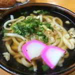 岡製麺所 - かけうどん(*´д`*)200円