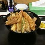 天房 - 天丼(1200円)