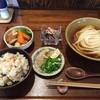 おうどん くるみ家 - 料理写真:日替わり定食