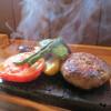 entotsu Bistro&Cafe - 料理写真:「大噴火!溶岩ハンバーグ」1,700円