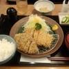 かつき亭 - 料理写真:日替わりランチ(メンチとチキンカツ)(850円)