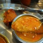 アヒリヤ - Bランチ(北インド)チキンキーマ