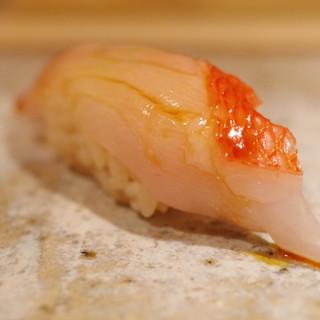 鮨さかい - 料理写真:金目鯛