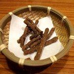 杵屋 - サービスの蕎麦かりんとう