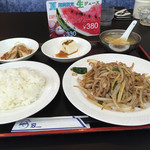 シーホース - 豚肉と野菜の細切り炒め定食