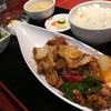 酒菜 刀削麺 - 料理写真:日替わりランチ 若鶏の四川風煮込みセット