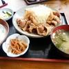 八光亭 - 料理写真:生姜焼き定食
