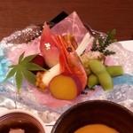 のと楽 - 料理写真:前菜