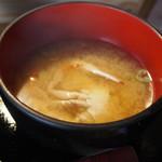 居酒屋 肴とり - 味噌汁