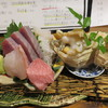 白雪 - 料理写真:刺身盛り合わせ
