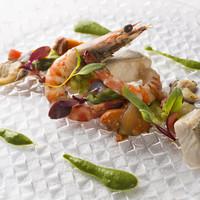 お任せで旬を楽しむ現代的イタリア料理コース【スタジオーネ】
